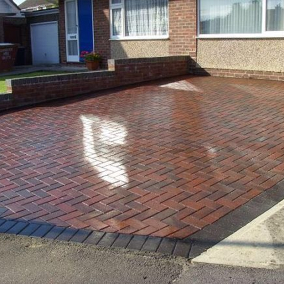 block paving driveway installation service in Castleford